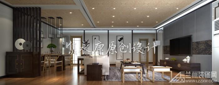 锦绣半岛新中式装修