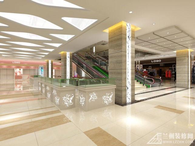 武威时尚仟盛百货商场装修设计图片